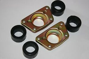 FOR PORSCHE 911 912 COVER PLATE REAR TORSION BAR SPRING PLATE MOUNT and BUSHINGS