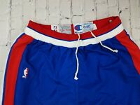 RARE Vtg 1992-93 DETROIT PISTONS Champion Authentic Team ISSUED Warmup Pants 40