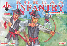 Korean Infantry 15-16 Century Samurai Wars  1/72 Redbox