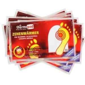 TERRATHERM® Zehenwärmer Fußwärmer Wärmesohlen 100/% natürliche WärmeSPAR-SET