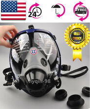 US 6800 Full Face Gas Mask Anti-dust Facepiece Respirator Painting Spraying