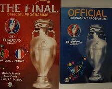 off. Turnier & Final Programm UEFA Euro 2016 Frankreich France (englisch)