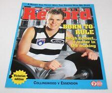 Football Record Round 20 Aug 1997 Collingwood V Essendon Magazine AFL