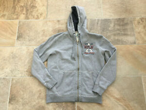 Mens Replay Grey Comfort Fit Hoodie - Size XL