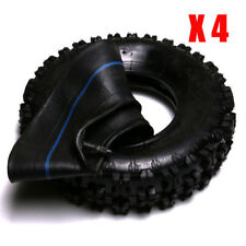 4pcs 4.10-6 off road Tire tyre tube Go Cart Tiller Snow Blower Mini Bike