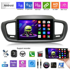 "10.1"" Android 9.1 Car Radio Stereo MP5 Player GPS Wifi Fit For 15-19 Kia Sorento"