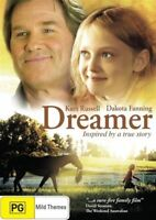 "KIDS ANIMAL HORSE MOVIE "" Dreamer "" (DVD) Dakota Fanning - INSPIRED TRUE STORY !"