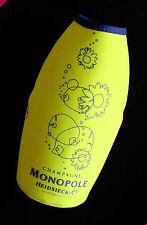 Collectible Limited Edition CHAMPAGNE MONOPOLE Bottle Cooler ~ No Bottle - VGC