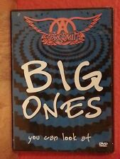 AEROSMITH ~  BIG ONES: YOU CAN LOOK AT { RARE DVD w/ DOLBY DIGITAL SOUND } NEW