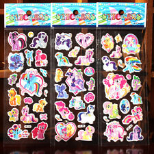 10 Sheets My Little Pony Stickers Party Favours Bag Fillers