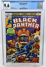 Black Panther #6 (1977) CGC Graded 9.6 Jack Kirby Story Art & Cover Marvel