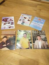 Daniel O'Donnell fan club magazines 2007 & 2008 x 3 plus New collectables look