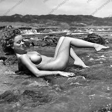 8x10 Print Arline Hunter Sexy Model Pin Up 1954 Nudes #AHN