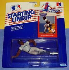 1988 RICKEY HENDERSON New York Yankees - FREE s/h- Rookie Starting Lineup NM-