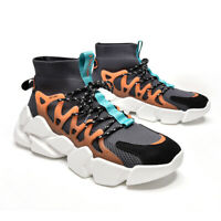 Men's Casual Shoe Fashion Sneakers High Top Leisure Shoes Outdoor Hiking shoes
