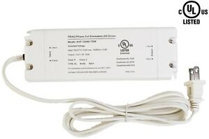 UL Listed 12v 60w LED Light Triac Dimmable Driver Power supply 5A