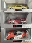 UT Models Porsche 911 GT1 & GT2 & Turbo S Cars Very Rare 1:18 Scale Boxed 3 Cars