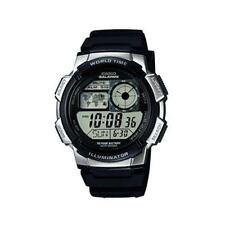 Casio ae1000w/1a2v Durable Resistente Al Agua Digital Para Hombre Reloj Negro-Nuevo