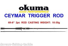 OKUMA CEYMAR TRIGGER ROD FOR SEA COARSE FISHING BAITCASTER REEL SPINNING LURES