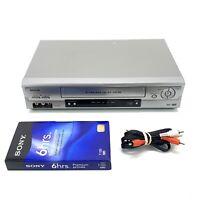 SANYO VWM-900 VHS Player 4 Head Hi-Fi VCR Video Cassette Recorder - Fully Tested