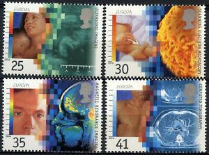 GB 1994 SG#1839-1842 Europa Medical Discoveries MNH Set #D97097
