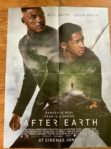 After Earth Elysium Double-Sided Movie Film Poster