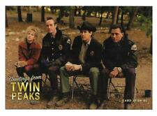 TWIN PEAKS GOLD BOX POSTCARD #27 LUCY, ANDY, HARRY & HAWK POST CARD