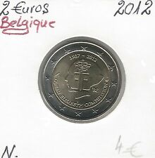 2 Euros - BÉLGICA - 2012 Calidad: Nuevos