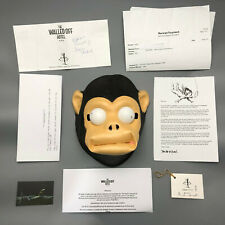 Banksy Monkey Mask Art Exit Through the Gift Walled off hotel Bethlehem, Limited