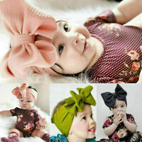 Lovely Baby Girls Kids Bunny Rabbit Bow Knot Turban Headband Hair Band Headwrap