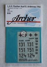 Archer 1/35 Panther Ausf.G 1. Kompanie 1. SS-Pz.Div. LSSAH Ardennes 1944 AR35198