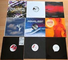 "22 x 12"" Vinyl DJ Sammlung gemischt Downtempo House Techno Electro Trance ect."