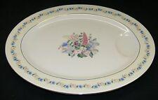 """Theodore Haviland NY  Fox Glove 11 1/4"""" Platter  Made in USA"""