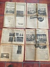 1928-29 Lot of Newspapers re: Antiques, Interior Design + Booklet    [1-31