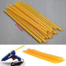 5pcs Hot Melt PDR Glue Sticks Car Body Paintless Dent Repair Puller Tool Yellow