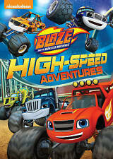 Blaze and the Monster Machines: High-Speed Adventures (DVD, 2015) BRAND NEW