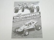 NEW TAMIYA GRASSHOPPER Manual Parts Guide TG7