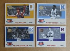 2001 FLEER GREATS OF THE GAME COLLEGE BASKETBALL ALL-AMERICAN INSERT SINGLES