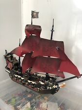 Lego Pirates Of The Caribbean Queen Anne's Revenge Set 4195 Ship ONLY RARE