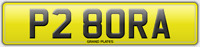 P28 ORA VW BORA REGISTRATION BORA NUMBER PLATE ASSIGNED FOR YOU FEES INCLUDED