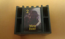 STRATEGO LOTR Board Game Part/Piece GRAY ARMY 2 Warg Rider Trilogy Edition Black