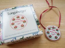 "Longaberger Pottery 1998 ""Happy Mother's Day"" Basket Tie On"