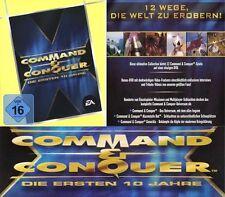 Command & Conquer Die ersten 10 Jahre 2 DVD 12 Spiele ! Stunde Null und Generäle