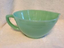Vintage FIRE KING JADEITE Anchor Hocking COLONIAL BATTER BOWL