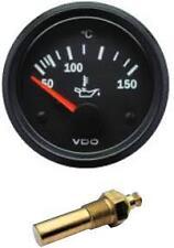 VDO Oil Temperature Temp gauge with sender, 12volt, 52mm 2 inch 40-150 Deg C