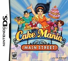CAKE MANIA: MAIN STREET video game for Nintendo DS, 2011 COMPLETE