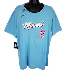 Miami Heat Nike Men's Dwayne Wade Tee Size 2XL