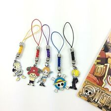 One Piece Cell Phone Chain Strap Hanging Drop Toy Doll Decorations #07