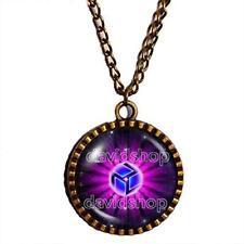 Antahkarana Necklace Chakra Symbol Pendant Reiki Healing Jewelry