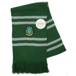 Harry Potter Bufanda Oficial Casa Slytherin Original WARNER BROS Draco Malfoy